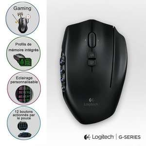 Souris Logitech G600 MMO Gaming Mouse