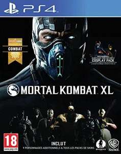 Mortal Kombat XL sur Xbox One à 16.56€ ou PS4