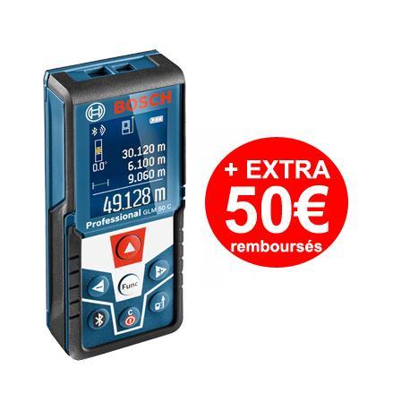 Télémètre laser Bosch Professional GLM 50C (Avec ODR de