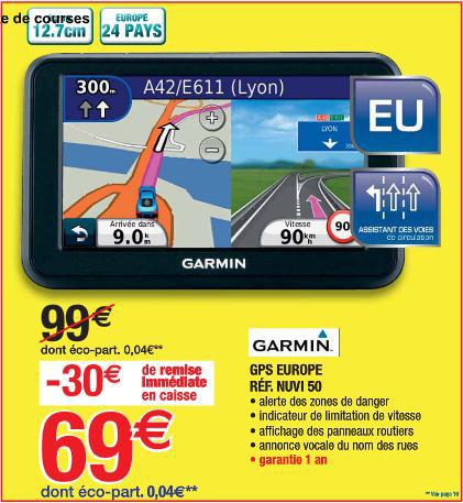 "GPS 5"" Garmin Nuvi 50"