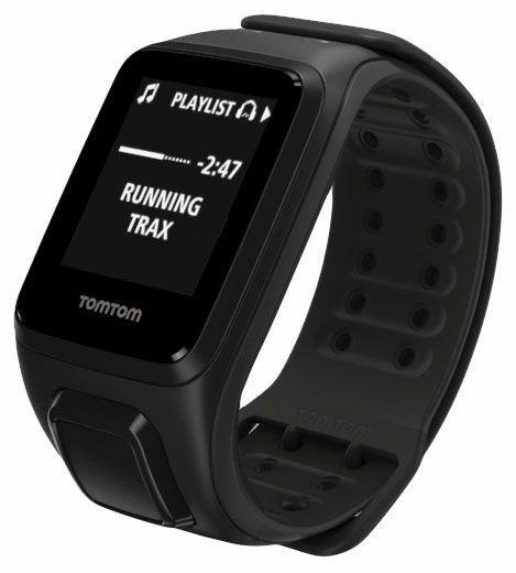 Montre connectée GPS TomTom Runner 2 Cardio + Music - (Nouveaux clients: 108€) Noir