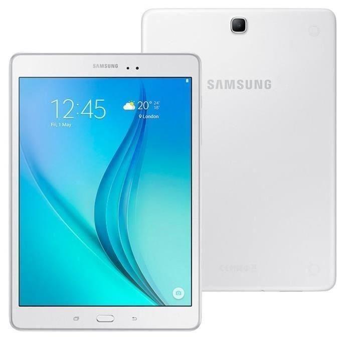 """Tablette 9.7"""" Samsung Galaxy Tab À 9.7 Blanc 16 Go"""