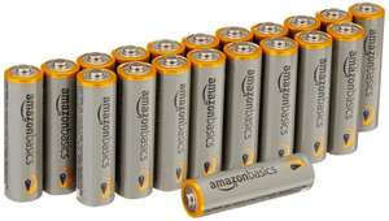 Lot de 48 piles alcalines AmazonBasics - AA 1,5V 2875mAh