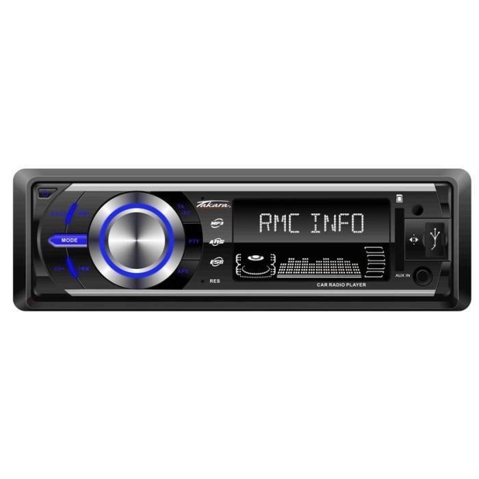 Autoradio Takara RDU1540 - Bluetooth, SD/USB/AUX (via ODR de 20€)