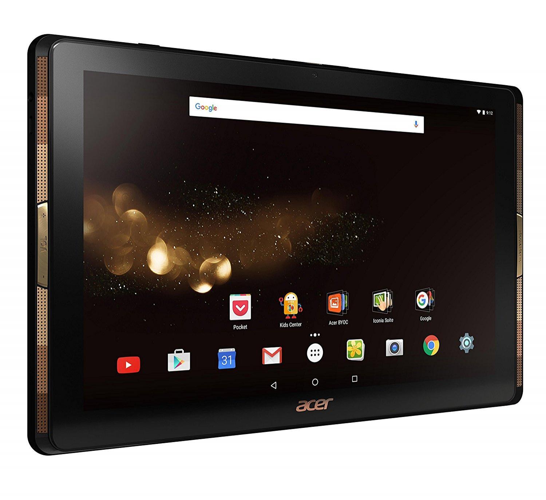 "Tablette Tactile 10"" Acer Iconia Tab A3-A40-N6VP Full HD Noir/Or (MediaTek Quad-Core, Mémoire 64 Go, Android) (via ODR 50€)"