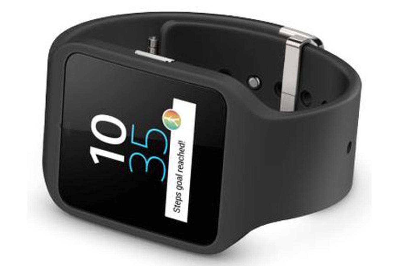 Montre connectée Sony Smartwatch 3 SWR50 noire (via ODR 50€) +10€ offert en carte cadeau