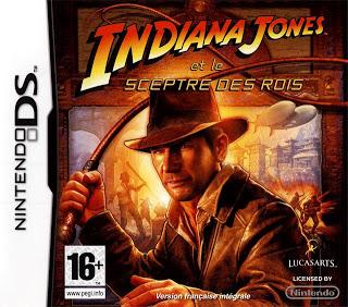 Indiana Jones et le sceptre des rois sur Nintendo DS (Autres jeux voir description)