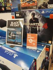 Pck Console Sony PS4 Slim 1 To + Uncharted 4