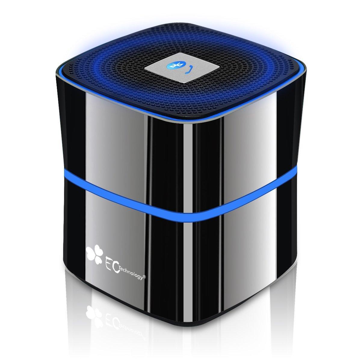 Enceinte Portable Bluetooth EC Technology S10-BT001 - avec haut-parleur BASS