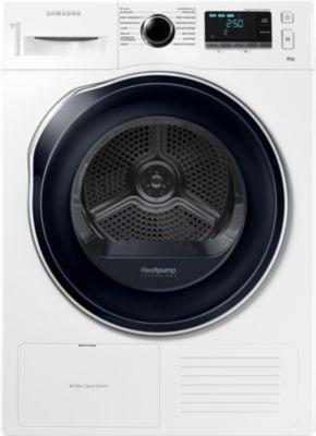 Sèche linge Pompe à chaleur  Samsung DV80K6010CW (via ODR 60€)