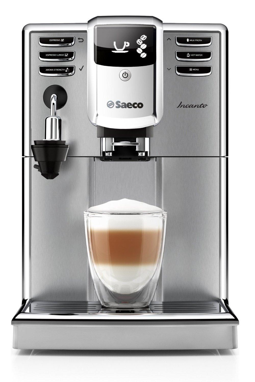 [via ODR] Machine à Café Automatique Saeco HD8914/01 Incanto Inox/Noir