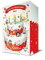 Boîte d'anniversaire gratuite (Pour les 4 ans) + bons de réduction Kinder