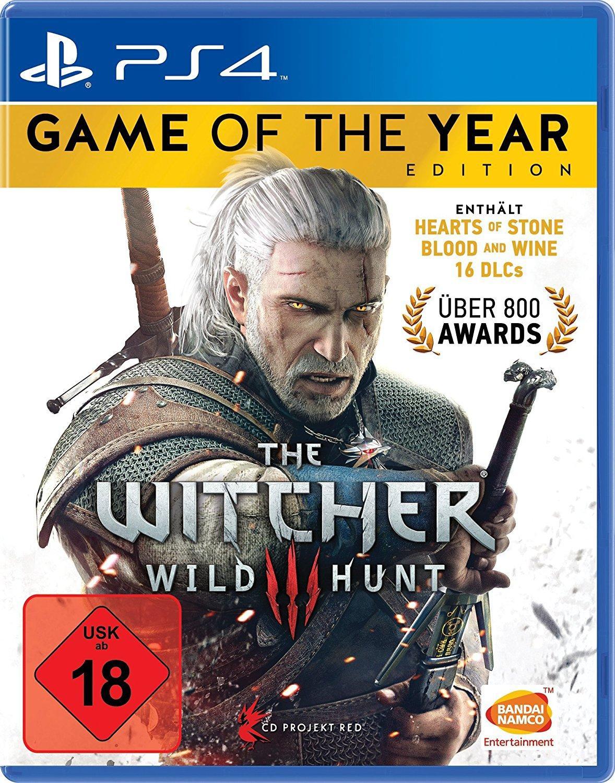 The Witcher 3 GOTY sur PS4, Xbox One, PC