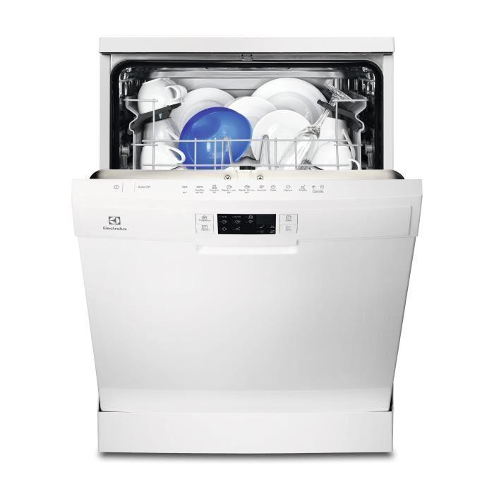 Lave-vaisselle Electrolux ESF5518LZW - posable - 13 couverts - 47dB - A+ - Larg. 60cm