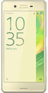 "Smartphone 5"" Sony Xperia X Performance Lime Gold Full HD"