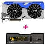 Sélection de cartes graphiques Palit en promo - Ex : GTX 1080 GameRock 8GB Premium Edition 8GB BUNDLE avec G-Panel 5.25