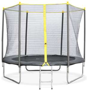 Selection d'articles en promotion - Ex : Trampoline 250 CM, filet de sécurité, échelle, bâche de protection