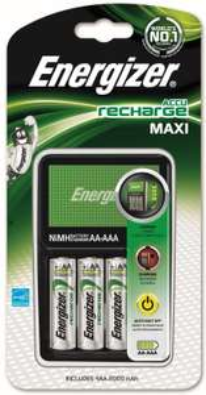 [Premium] Chargeur Energizer Maxi pour pile AA et AAA (4 piles AA, 2000mAh incluse)