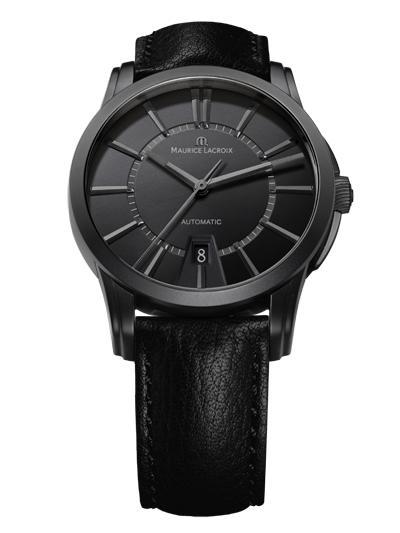 Montre Maurice Lacroix Pontos Date Full Black