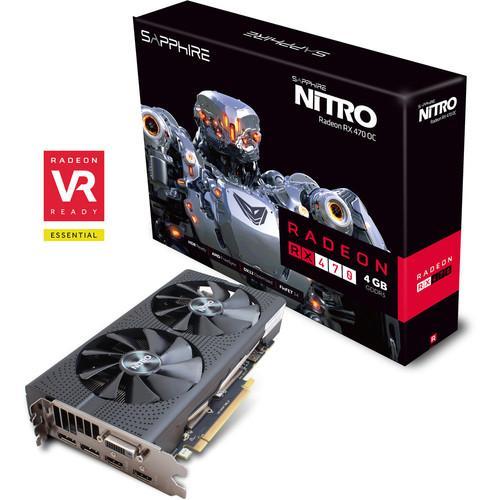 Carte graphique Sapphire RX 470 Nitro OC + Hitman offert