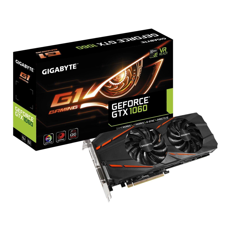 Carte graphique Gigabyte GeForce GTX 1060 G1 Gaming - 6 Go GDDR5