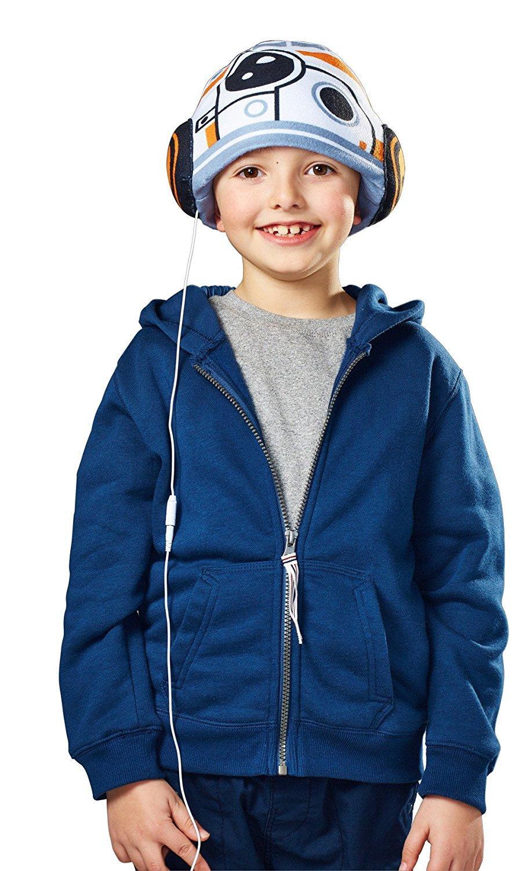 Bonnet avec écouteurs Headphone Hats Cool Music Hec003 - Star Wars Bb8