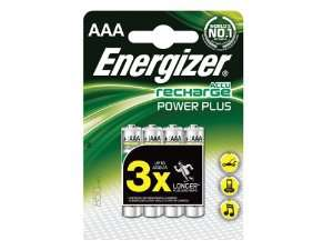 4 piles rechargeables AAA Energizer 850Mah