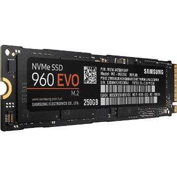 SSD interne M2 Samsung 960 Evo (PCIe NVMe V-Nand TLC) 500 Go à 249,9€ et le 250 Go