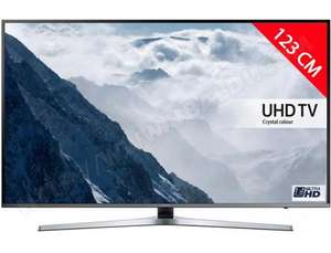 "TV 49"" Samsung UE49KU6470 - LED, 4K HDR, Smart TV (via ODR de 100€)"