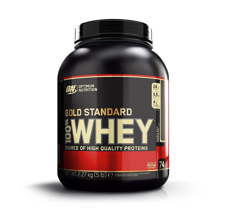 Protéine Optimum 100% Whey - Gold Standard - Double Chocolat - 2,2 kg