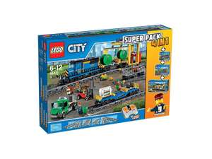 Lego City - Value Pack Train 4 en 1 - 66493