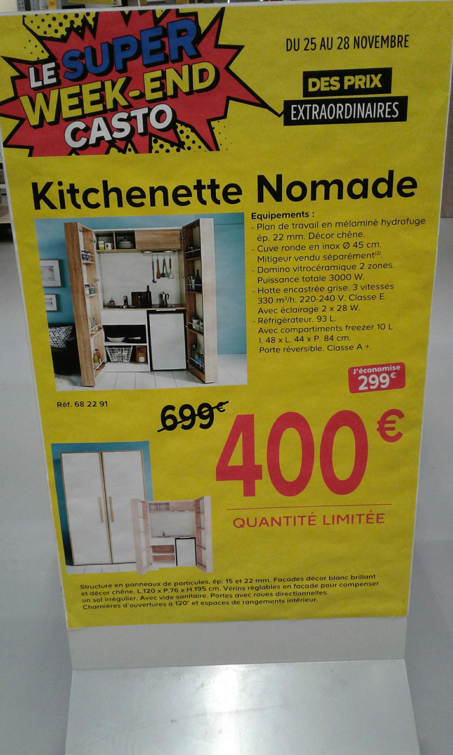 Kitchenette nomade