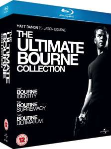 Coffret Blu-ray The Ultimate Bourne Collection (Trilogie)