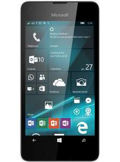 """Smartphone 4.7"""" Lumia 550 8Go Blanc + forfait mobile Red à 5€ /mois (sans engagement)"""