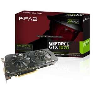 Carte Graphique KFA2 - GeForce GTX 1070 EX 8Go DDR5 + Watch Dogs 2 Offert
