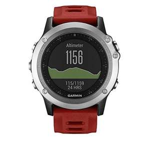 Montre GPS Garmin Fenix 3 Multisports Outdoor (argent)