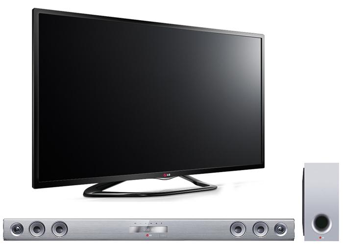 "TV 42"" LG 42LN575 + Barre de son LG NB3531A (MàJ)"