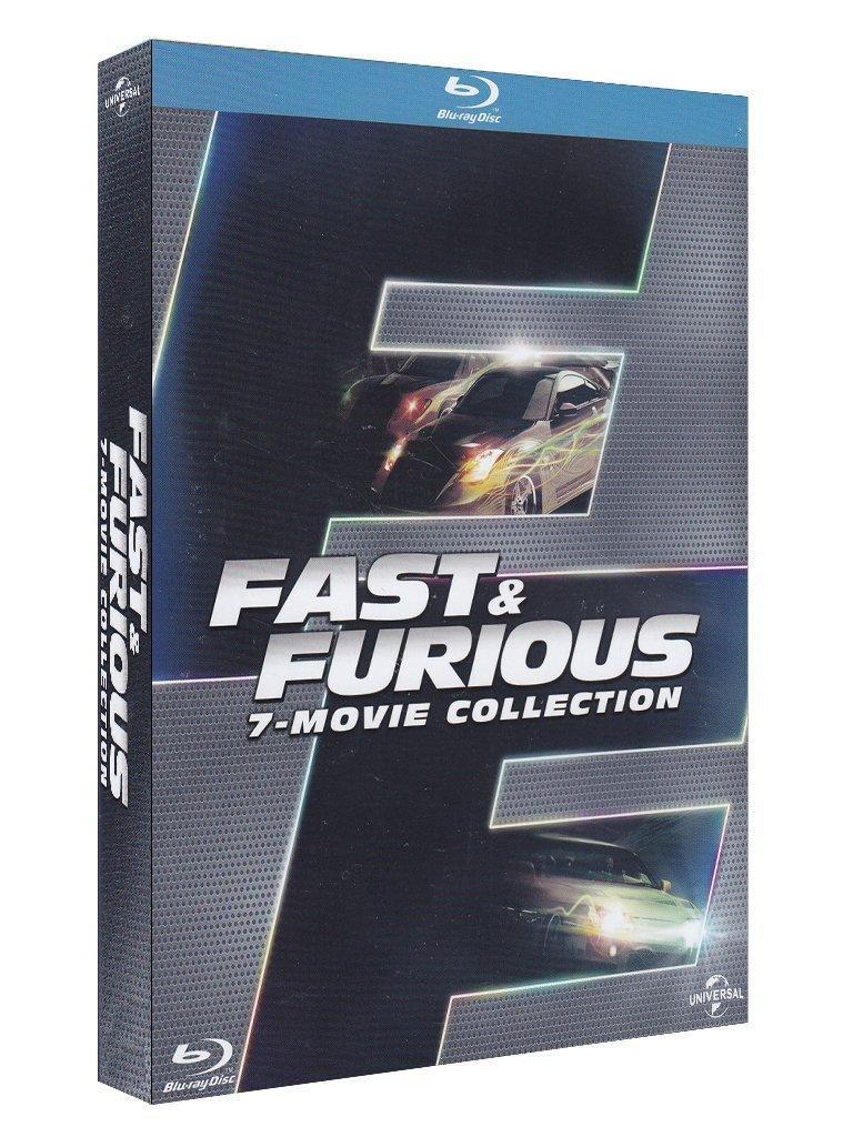 Coffret Intégrale de Fast and Furious (7 Blu-Ray)