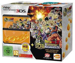 Console Nintendo New 3DS Extreme Butoden + Jeu Dragon Ball Z: Extreme Butoden