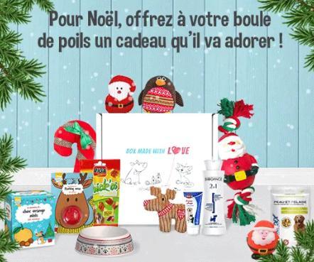 Woufbox de Noël (comprenant 8 articles pour chien)