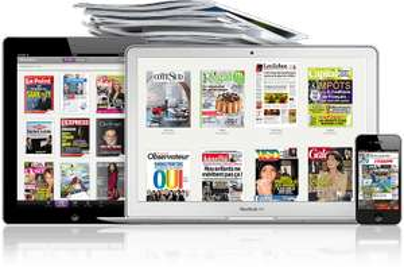15 quotidiens / magazines numériques, pendant une semaine