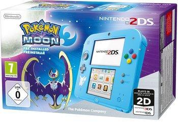Console Nintendo 2DS édition spéciale (bleu) + Pokémon : Lune ou Pokémon : Soleil (via 10€ sur la carte de fidélité)