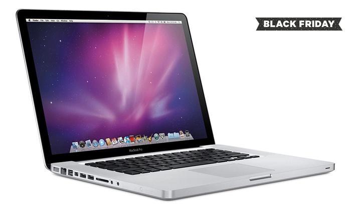 """PC Portable 13"""" Apple MacBook Pro  MD101LL/A - 1280x800, i5 2.5GHz, 4 Go de Ram, 500 Go, QWERTY, Reconditionné"""