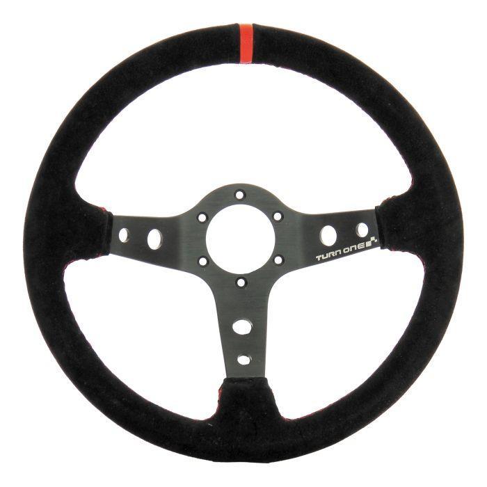 Volant de Rally Turn One - Noir/rouge, tul 70 mm