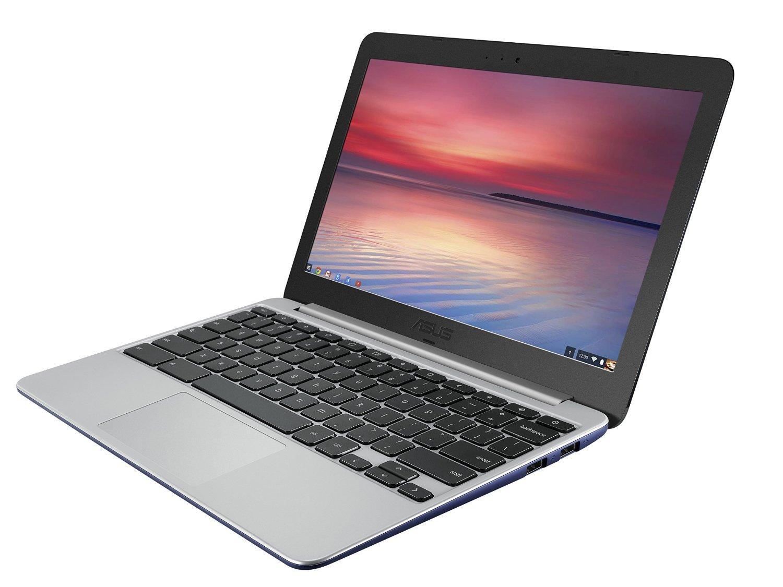 """PC Portable 11.6"""" Chromebook Asus C201PA-FD0009 - Rockchip RK-3288, 4 Go de RAM, SSD 16 Go, Chrome OS, Bleu"""