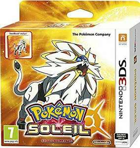 Pokémon Lune ou Pokémon Soleil - Edition Collector Steelbook sur 3DS