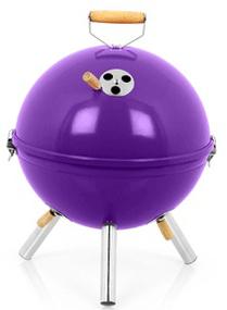 Petit Barbecue Charbon Intercol Bbgrill 30cm Violet ou Framboise