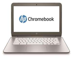 "PC portable 14"" HP Chromebook (Celeron N2840, 4 Go de RAM, 16 Go, Chrome OS, argent ou bleu)"