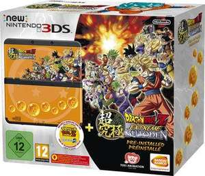 Console  Nintendo New 3DS + Dragon Ball Z: Extreme Butoden
