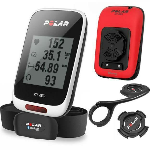 Compteur pour vélo avec GPS Polar M450 Spécial Edition (+ ceinture cardio et support)